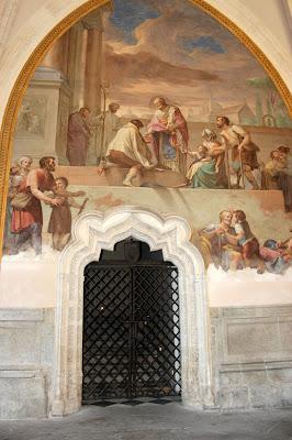 Frescos de Francisco Balleu en la catedral de Toledo