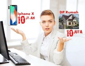 Tahu kah Anda? Uang Untuk Beli IPhone X Seharga DP Rumah