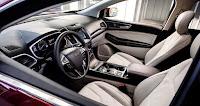 2019 Ford Edge Titanium interior