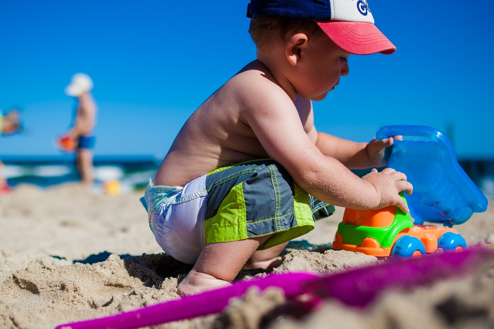 pielęgnacja skóry dziecka w lecie