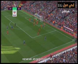 اهداف  مباراة ليفربول وليستر سيتي اليوم السبت 10-9-2016