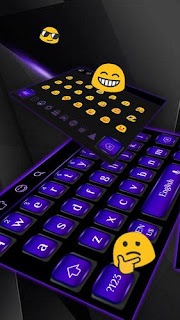 Cool Black Purple Keyboard 10001002 for Android Latest APK