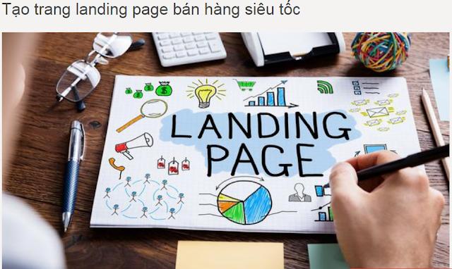 """khóa học """"Tự tay thiết kế Landing Page - thôi miên khách hàng"""""""