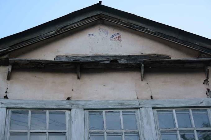 Alexander der Große Makedonier schmückt Haus bei Kičevo seit 1911