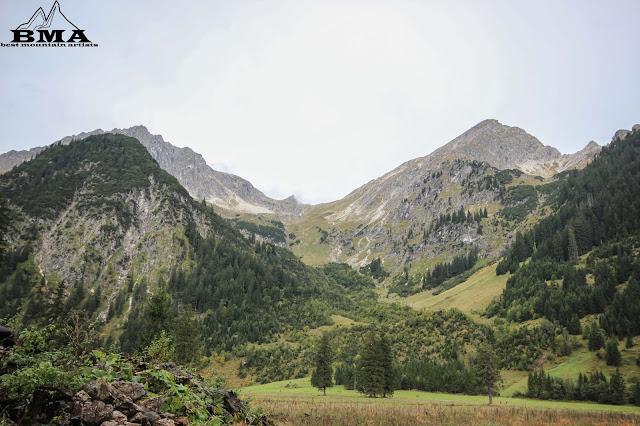 wandern Vilsalpsee - rund um den Vilsalpsee - Rundtour - Tannheimer Tal - Österreich - Berge - Alpen