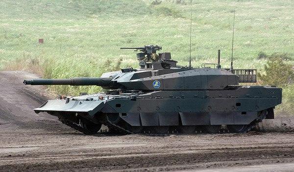 Танк Тип 10, Япония