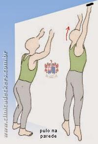 Distensão da Musculatura da Panturrilha - Pulo na parede