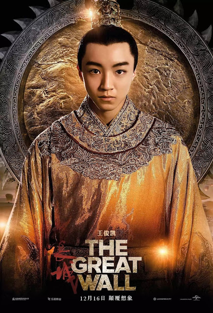 Wang Jun Kai in The Great Wall