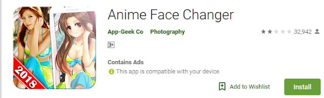 Download  5 Aplikasi  Android Untuk Mengubah Foto Wajah Anda ke Cartoon  6