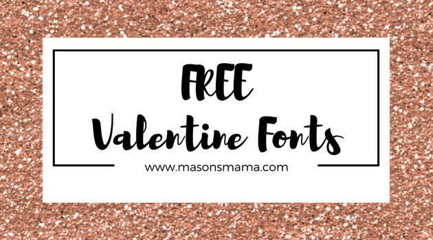 Hall Around Texas - Free Valentine's Day Fonts