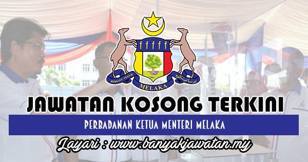 Jawatan Kosong 2018 di Perbadanan Ketua Menteri Melaka