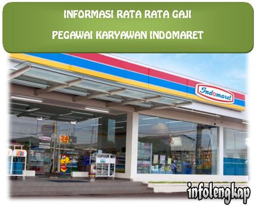 NEW!! Info Rata Rata Gaji Karyawan Indomaret 2017
