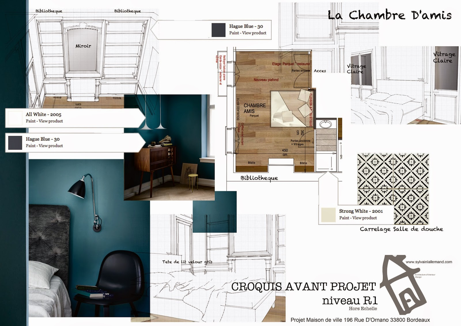 Renovation et transforamation d 39 une echope bordealaise for Architecte interieur paris