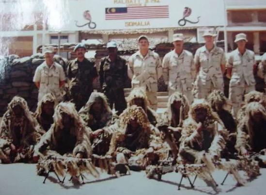 Kisah Komando Malaysia Sertai Misi Black Hawk Down