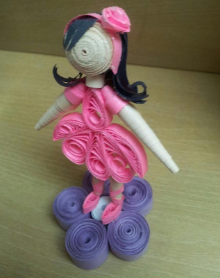 Handmade quilling doll designs - quillingpaperdesigns