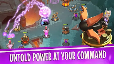 Download Castle Creeps TD Mod Apk Cheat Mod Full Money