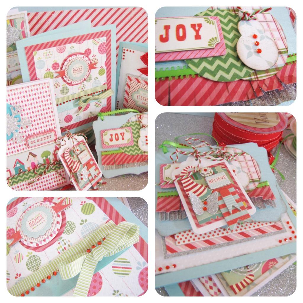Koko Vanilla Designs Blog: New Christmas Card Making Kit