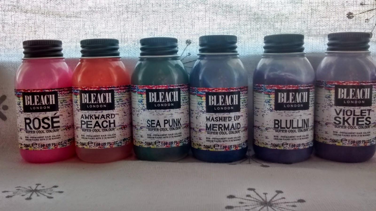 Bleach London Spin The Bleach Bottle Bethemilydann