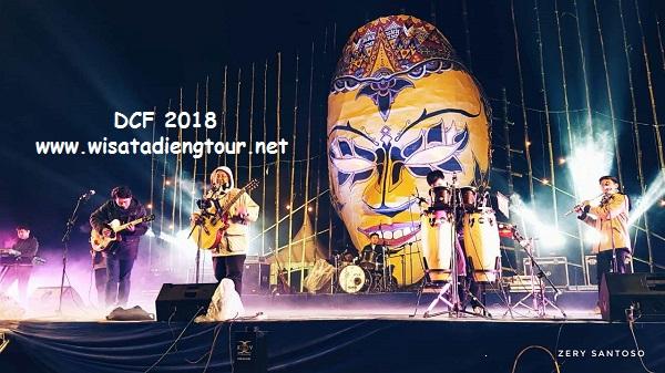 Foto DCF Kawan Kurnia Dieng Tour Festival Jazz