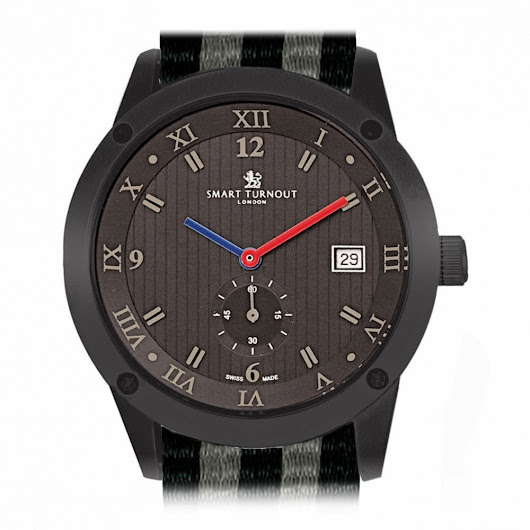 Smart Turnout's Town chronograph exudes understated elegance ~ Dapperesque