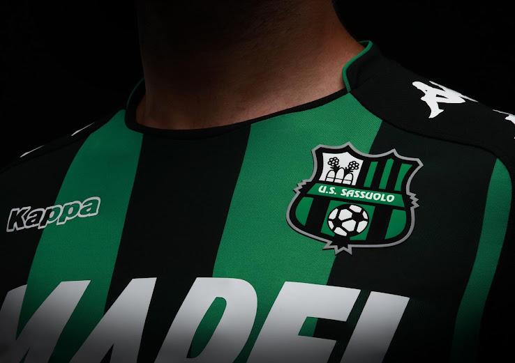 Sassuolo presentó sus camisetas Kappa para la temporada 2017/18