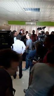 Photos: Facebook founder Mark Zuckerberg's first exclusive photos In Nigeria