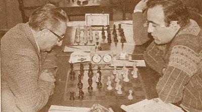 Partida de ajedrez Joaquim Travesset - Enric Pablo Cabré 1982