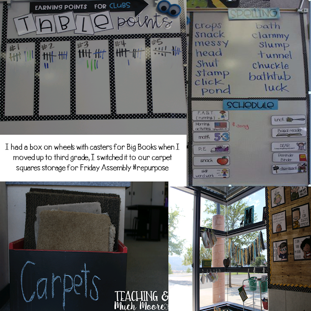 classroom tour, classroom reveal, classroom decor and set up