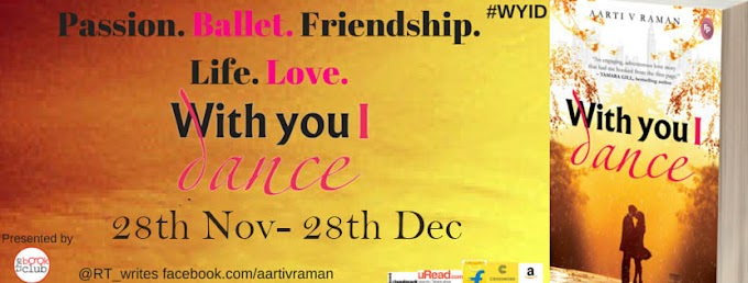 Blog Tour: WITH YOU I DANCE by Aarti V Raman