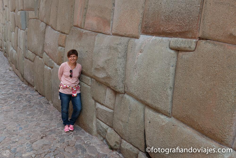 Restos incas en las calles de Cuzco