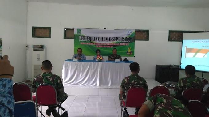Anggota Koramil 0819/10 Bangil Hadiri Pertemuan Calon Akseptor MOP