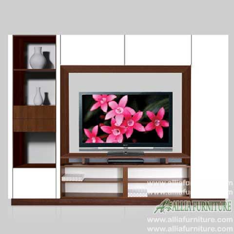 lemari pajangan tv lcd minimalis west