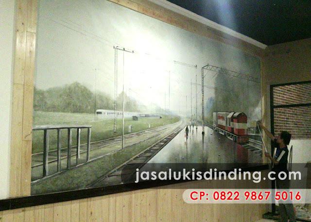 Lukisan 3D Bandung