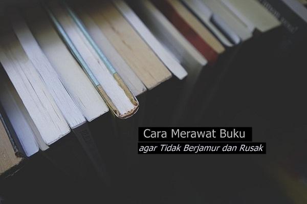 Cara Merawat Buku agar Tidak Berjamur