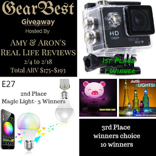 Enter the GearBest Giveaway. Ends 2/18