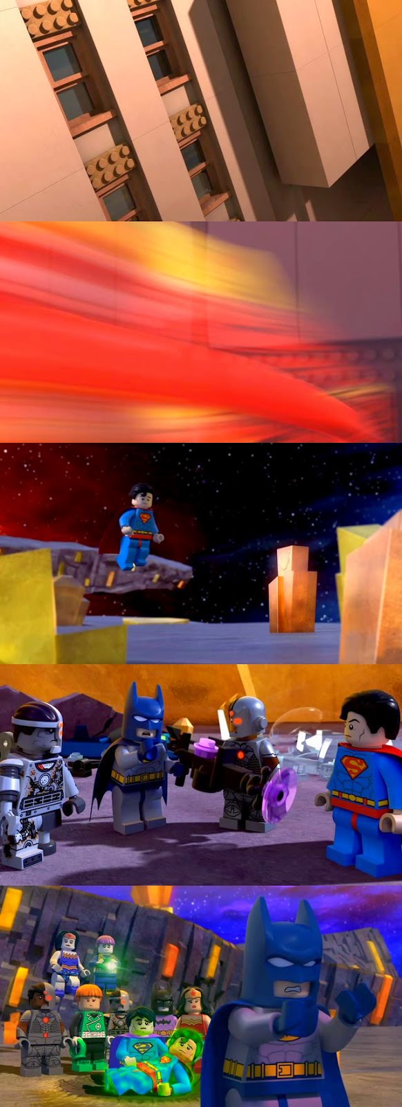 Lego Batman Justice League vs Bizarro League DVDRip Latino
