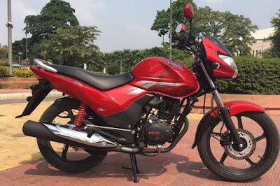 New Hero Achiever 150 iSmart side image