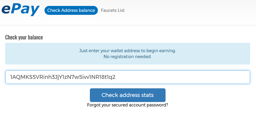 How To Crate Bitcoin Address Use Epay To Transfer Bitcoins