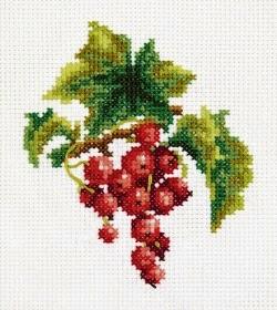 Красная смородина схемы для вышивки