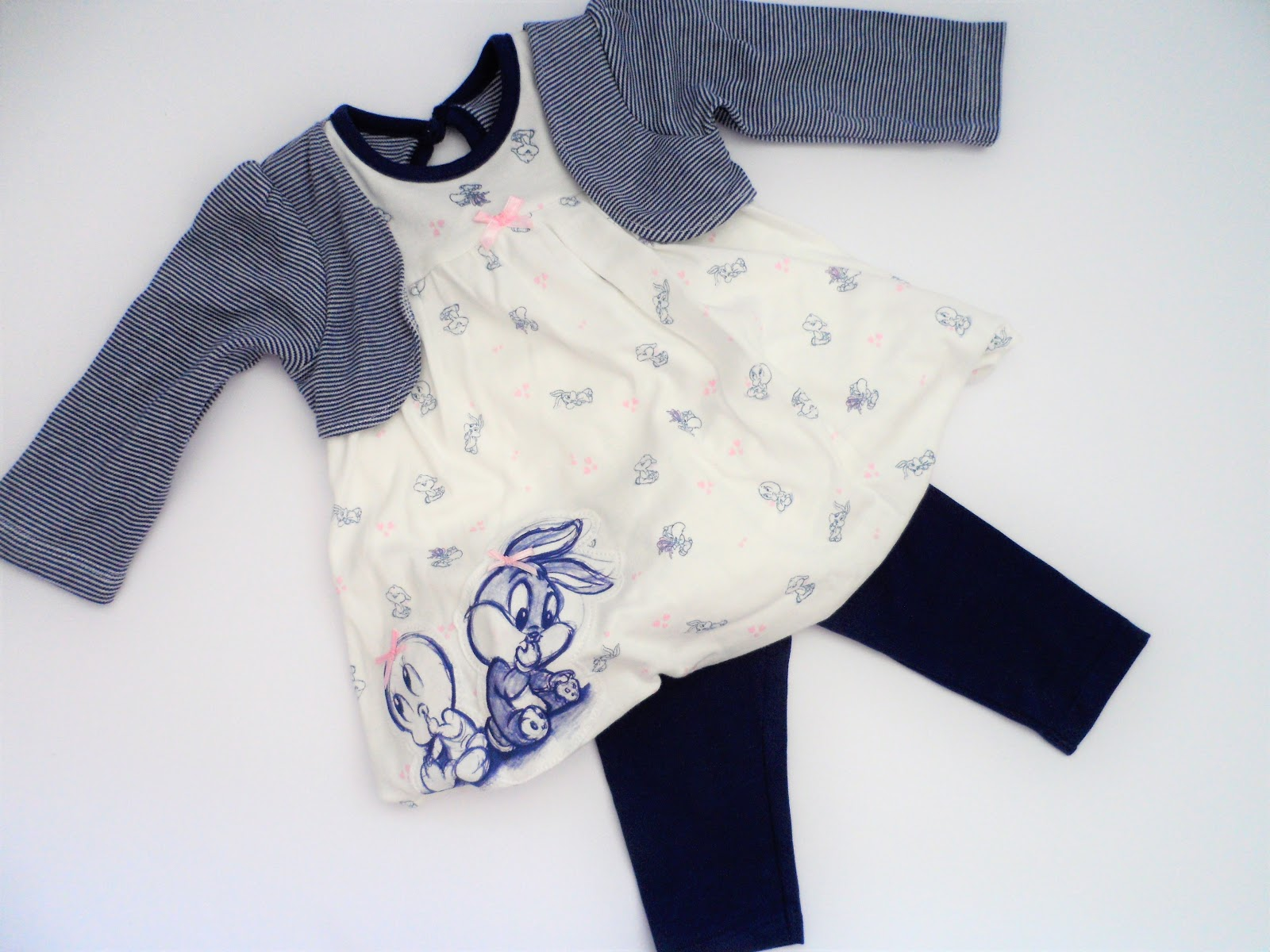 Clothing, Shoes & Accessories F&f Baby Girl Leggings 0-3