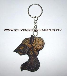 Souvenir Pernikahan Gantungan Kunci Batik Jogjakarta 11
