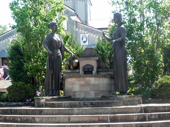 Трускавец. Скульптура Иисус и самаритянка