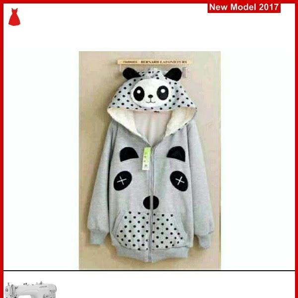 MSF0061 Model Jaket Hoodie Murah Panda Abu BMG