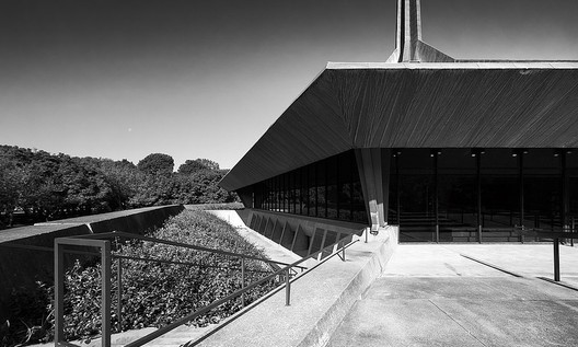 Iglesia cristiana del Norte en Columbus | Eero Saarinen | Impresionante aguja