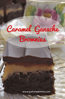 Caramel Ganache Brownies