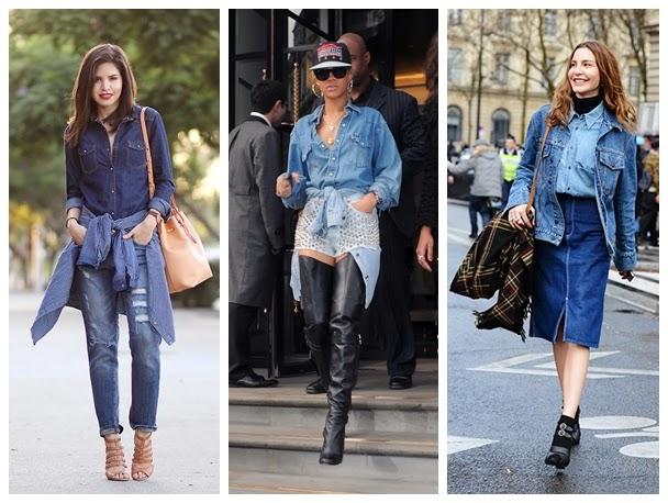 How To Wear Denim On Denim Fashion Party Blog
