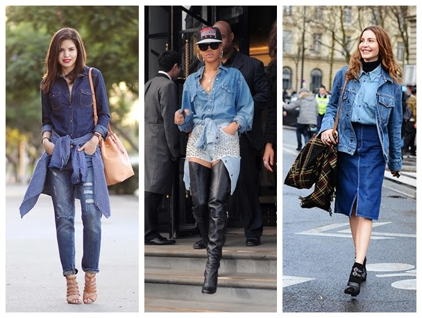 how to wear your denim jacket
