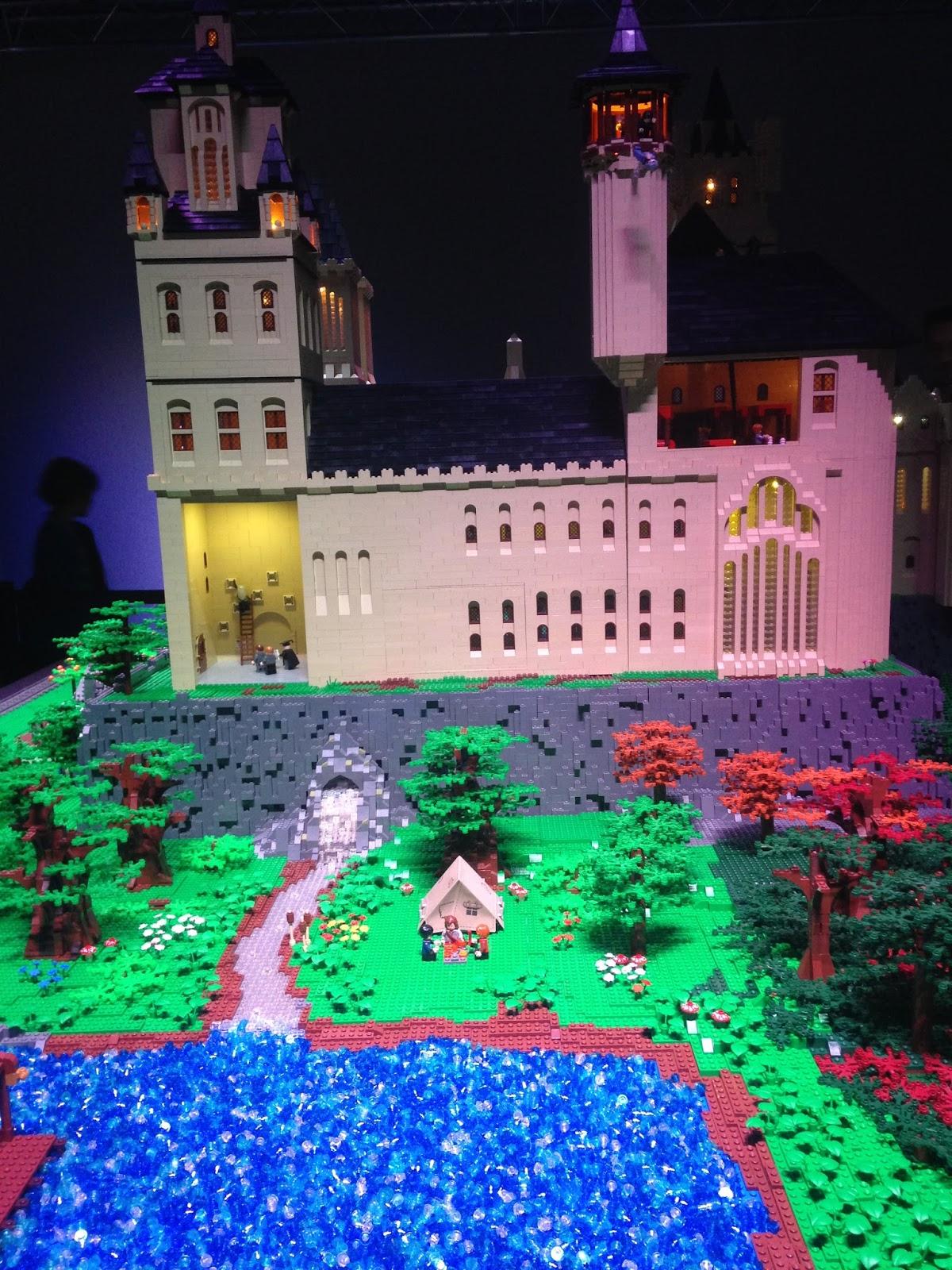 Lego, château de Poudlard (Harry Potter)