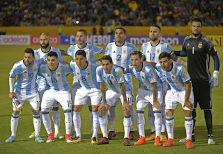 2018 FIFA World Cup Russia and the Argentina's Team