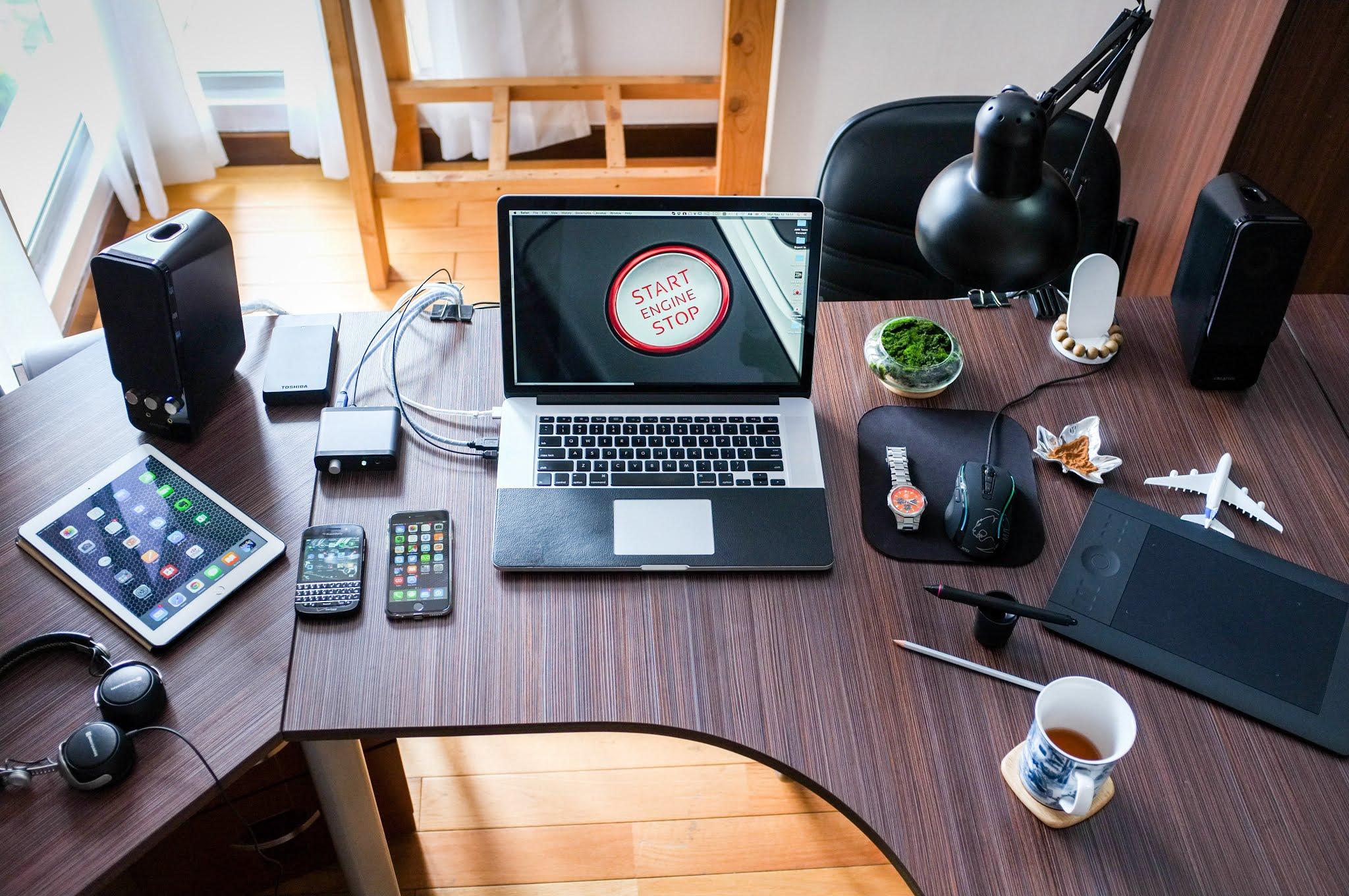 Oficina para trabajar remoto